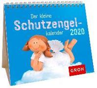 Cover-Bild zu Der kleine Schutzengelkalender 2020: Mini-Monatskalender
