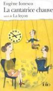 Cover-Bild zu La cantatrice chauve / La lecon von Ionesco, Eugene