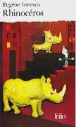 Cover-Bild zu Rhinocéros von Ionesco, Eugène