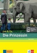Cover-Bild zu Die Prinzessin (Stufe 1). Buch + Online von Burger, Elke