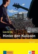 Cover-Bild zu Hinter den Kulissen (Stufe 3). Buch + Online von Burger, Elke