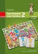 Cover-Bild zu Sprachspiele zum Satzbau 2. Grammatik. Fragesätze. Kopiervorlagen von Lulcheva, Dilyana