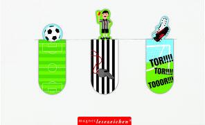 Cover-Bild zu Magnetlesezeichen Fussball