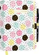 "Cover-Bild zu Bullet Journal ""Pastel Dots"" mit original Tombow TwinTone Dual-Tip Marker 22 pink"