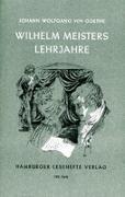 Cover-Bild zu Wilhelm Meisters Lehrjahre von Goethe, Johann Wolfgang von