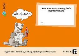 Cover-Bild zu Mein 5-Min-Trainingsheft: Rechtschreibung 2, Kl. 4 von Hohmann, Karin