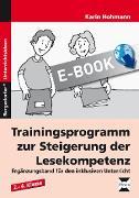 Cover-Bild zu Trainingsprogramm Lesekompetenz - Ergänzungsband (eBook) von Hohmann, Karin