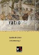 Cover-Bild zu ratio Lesebuch Latein Abiturtraining 1 von Lobe, Michael