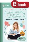 Cover-Bild zu Leseleicht-Texte zu Festen und Feiertagen (eBook) von Scheller, Anne