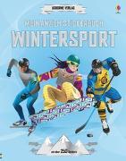 Cover-Bild zu Mein Anzieh-Stickerbuch: Wintersport von Melmoth, Jonathan