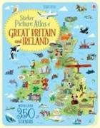 Cover-Bild zu Sticker Picture Atlas of Great Britain and Ireland von Melmoth, Jonathan