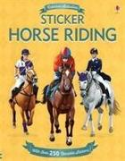 Cover-Bild zu Sticker Horse Riding von Melmoth, Jonathan