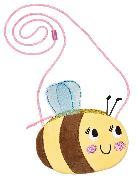 Cover-Bild zu Plüschtasche Bienchen