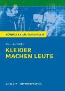 Cover-Bild zu Gottfried Keller: Kleider machen Leute von Keller, Gottfried