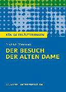 Cover-Bild zu Friedrich Dürrenmatt: Der Besuch der alten Dame von Dürrenmatt, Friedrich