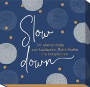 Cover-Bild zu Slow down