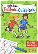 Cover-Bild zu Mein dicker Fußball-Quizblock