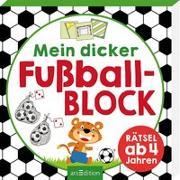 Cover-Bild zu Mein dicker Fußballblock