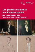 Cover-Bild zu Los juristas catalanes y el Estado español (eBook)