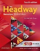 Cover-Bild zu New Headway. Fourth Edition. Elementary. Student's Book Pack mit Vokabelliste Englisch-Deutsch von Soars, Liz