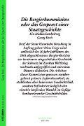 Cover-Bild zu Die Bergier-Kommission oder das Gespenst einer Staatsgeschichte von Kreis, Georg