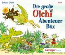 Cover-Bild zu Die große Olchi-Abenteuer-Box (3 CDs)