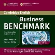 Cover-Bild zu Business Benchmark. Business Preliminary preparation material. Audio-CD