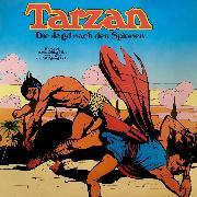 Cover-Bild zu Burroughs, Edgar Rice: Tarzan, Folge 3: Die Jagd nach den Spionen (Audio Download)