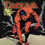 Cover-Bild zu Burroughs, Edgar Rice: Tarzan, Folge 7: Auf den Spuren der Sklavenjäger (Audio Download)