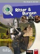Cover-Bild zu Gieth, Hans-Jürgen van der: Leselauscher Wissen: Ritter und Burgen (inkl. CD & Bastelbogen)