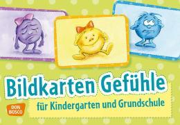 Cover-Bild zu Bildkarten Gefühle von Bücken-Schaal, Monika