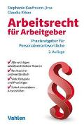 Cover-Bild zu Kaufmann-Jirsa, Stephanie: Arbeitsrecht für Arbeitgeber