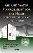 Cover-Bild zu Wright, Kenneth I (Hrsg.): Air & Water Management for the Home