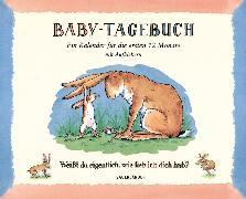 Cover-Bild zu Baby-Tagebuch. Weißt du eigentlich, wie lieb ich dich hab?