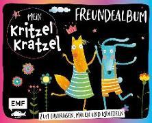 Cover-Bild zu Mein Kritzel-Kratzel-Freundealbum