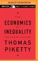 Cover-Bild zu Piketty, Thomas: The Economics of Inequality