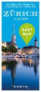 Cover-Bild zu KUNTH Verlag GmbH & Co. KG (Hrsg.): EASY MAP Europa ZÜRICH. 1:12'500