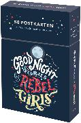 Cover-Bild zu Favilli, Elena: Good Night Stories for Rebel Girls - 50 Postkarten