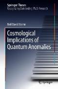 Cover-Bild zu Barrie, Neil David: Cosmological Implications of Quantum Anomalies