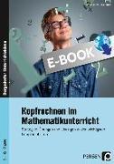Cover-Bild zu Kopfrechnen im Mathematikunterricht (eBook) von Felten, Patricia