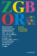 Cover-Bild zu ZGB/OR (eBook) von Sutter-Somm, Thomas