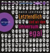 Cover-Bild zu Levithan, David: Letztendlich sind wir dem Universum egal