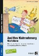 Cover-Bild zu Auditive Wahrnehmung - Wortebene von Rosendahl, Julia