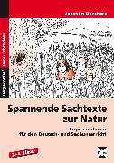 Cover-Bild zu Spannende Sachtexte zur Natur von Borchers, Joachim