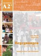 Cover-Bild zu Begegnungen A2+. Integriertes Kurs- und Arbeitsbuch von Buscha, Anne