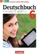 Cover-Bild zu Deutschbuch Gymnasium 6. 10. Schuljahr. Neubearbeitung und Bildungsplan 2016. Handreichungen für den Unterricht mit CD-ROM. BW von Cattaneo, Ina
