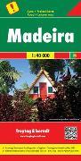 Cover-Bild zu Freytag-Berndt und Artaria KG (Hrsg.): Madeira, Autokarte 1:40.000. 1:40'000