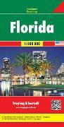 Cover-Bild zu Freytag-Berndt und Artaria KG: Florida, Autokarte 1:500.000. 1:500'000
