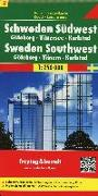 Cover-Bild zu Freytag-Berndt und Artaria KG (Hrsg.): Schweden Südwest - Göteborg - Vänersee - Karlstad, Autokarte 1:250.000. 1:250'000