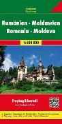 Cover-Bild zu Freytag-Berndt und Artaria KG (Hrsg.): Rumänien - Moldawien, Autokarte 1:500.000. 1:500'000